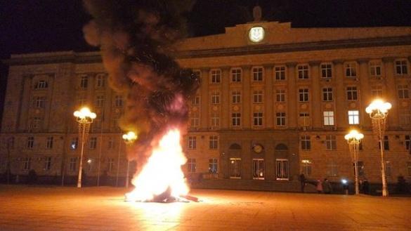 Активісти анонсують новий мітинг на Соборній площі