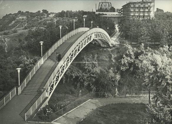 Черкаському мосту кохання виповнилося 50 років