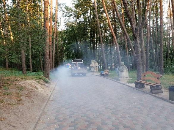 У деяких черкаських парках