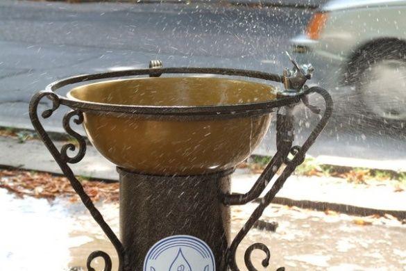 У Черкасах демонтували питні фонтанчики
