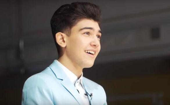 Перемогти для України: юний співак із Черкас розповів про головну мрію (ВІДЕО)