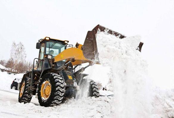 У Черкасах визначили місця для вивезення снігу