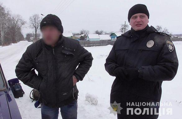 Полісмени затримали черкащанина, який пограбував магазин в іншому регіоні (ФОТО)