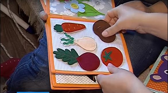 У Черкасах майстриня створює незвичні книжки із тканини (ВІДЕО)