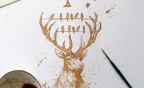 Жителів Черкас навчатимуть малювати кавою