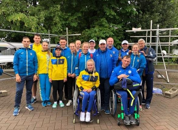 Черкащани вибороли перші місця на змаганнях з паралімпійського веслування