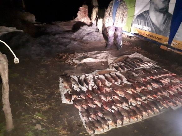 Браконьєр у Черкасах виловив 75 кілограмів риби (ФОТО)