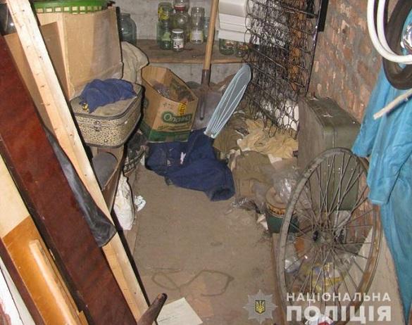 На Черкащині встановили зловмисника, який обкрадав підвальні приміщення (ФОТО)