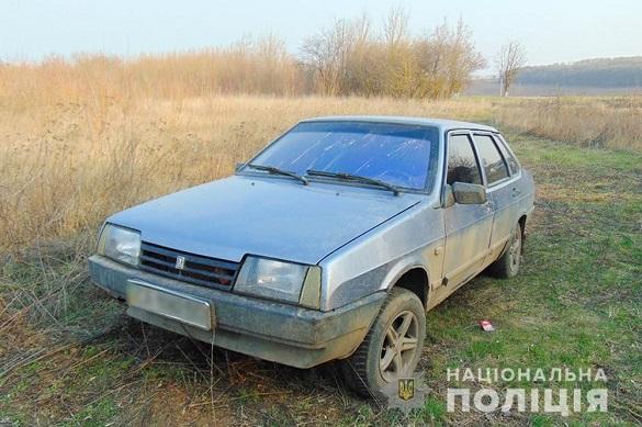 На Черкащині двоє неповнолітніх викрали автівку (ФОТО)