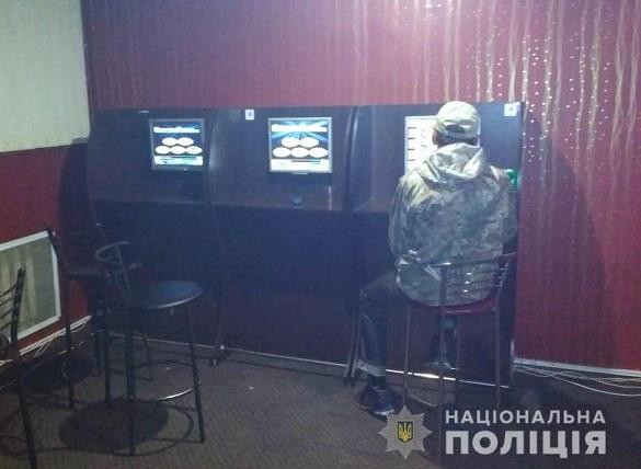 Ще один нелегальний гральний заклад викрили на Черкащині