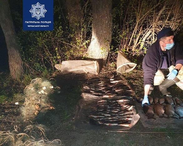 Браконьєри на Черкащині знову завдали державі тисячних збитків (ФОТО)