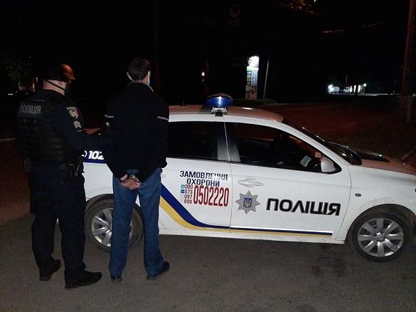 Зловмисник у Черкасах порушив домашній арешт та хотів пограбувати магазин (ФОТО)