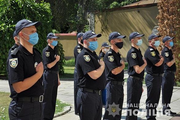 16 правоохоронців на Черкащині поповнили ряди дільничних офіцерів поліції (ФОТО)