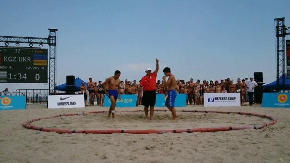 Чемпіонат з пляжної боротьби пройде на Черкащині