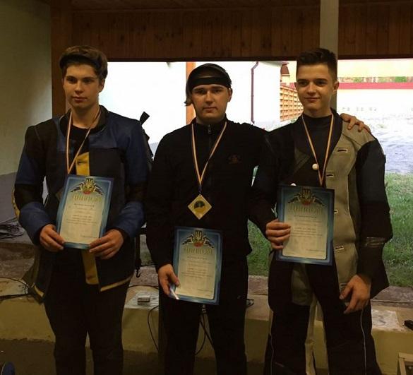 Черкаські стрільці отримали нагороди на чемпіонаті України