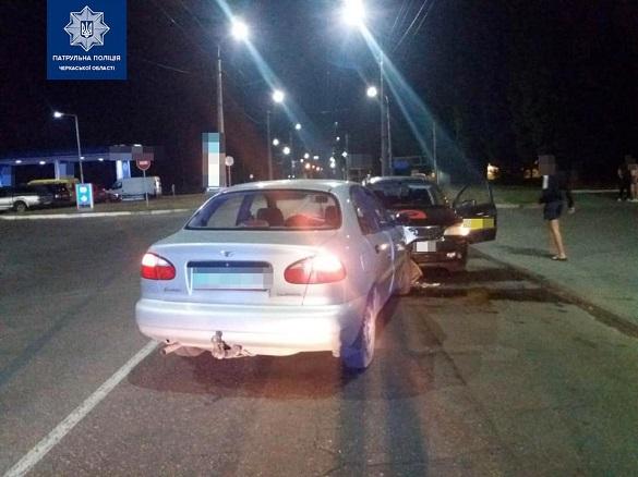 У Черкасах зіткнулися дві автівки (ФОТО)