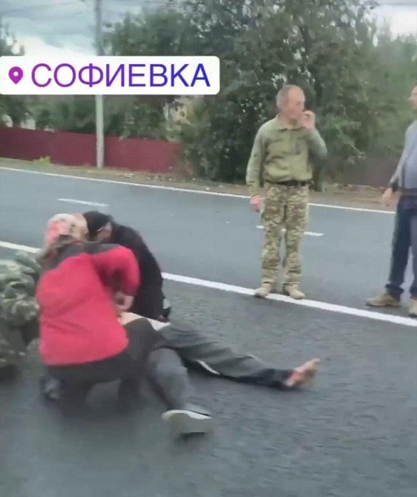 У Черкаській області насмерть збили чоловіка (ФОТО)