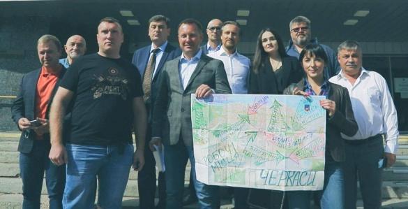Віталій Ільченко подав документи для реєстрації кандидатом на посаду Черкаського міського голови