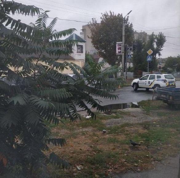 Поліцейські оточили СІЗО і перекрили центральну вулицю Черкас