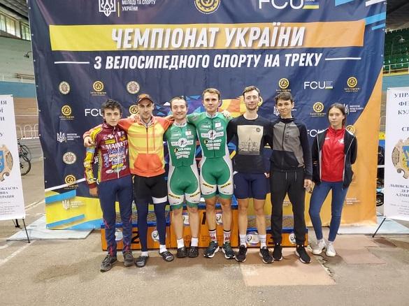 Черкаські велосипедисти стали чемпіонами України