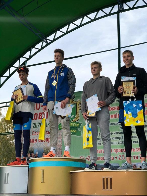 Черкаський спортсмен виборов перше місце на чемпіонаті України з дуатлону