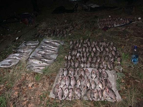 У Черкаській області затримали браконьєрів, які завдали збитків на понад 30 тисяч гривень (ФОТО)