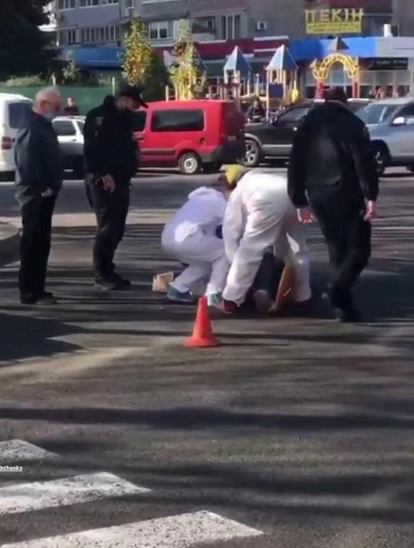 На перехресті в Черкасах збили жінку