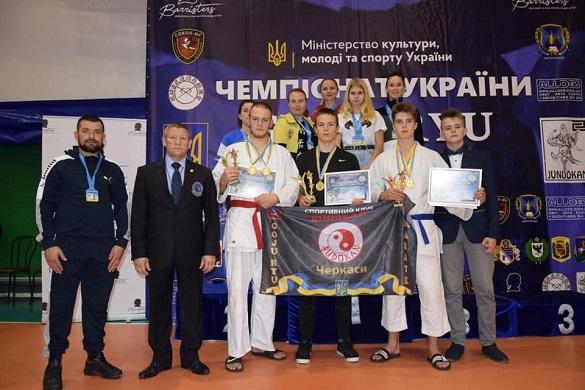 Черкаські каратисти отримали нагороди на чемпіонаті України