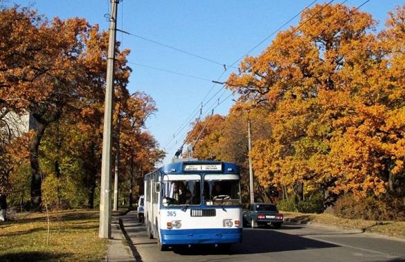 Деякі тролейбуси у Черкасах змінять свій рух