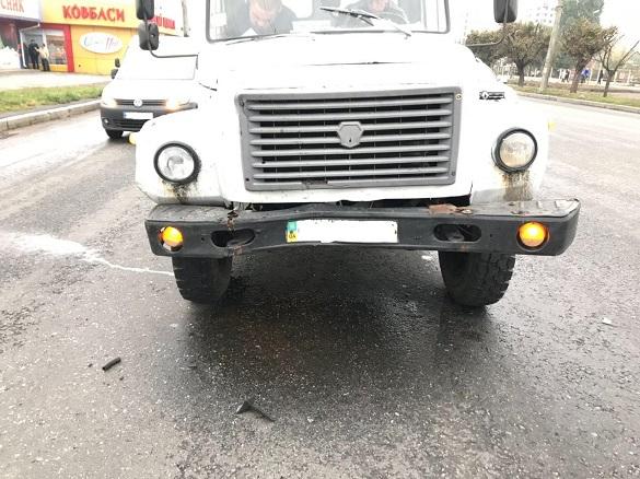 У Черкасах сталася аварія: постраждалу доправили до лікарні