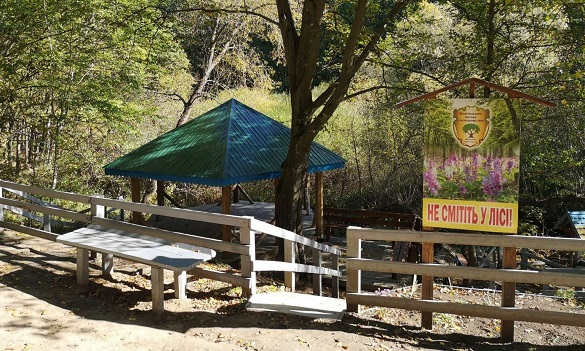 На Черкащині створили зону відпочинку біля лісового джерела в урочищі