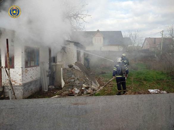 На Черкащині у власному будинку загинув чоловік (ФОТО)