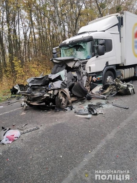 Водія фури, якийспричинив смертельну ДТП на Черкащині, затримали