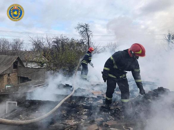 Через неправильну експлуатацію пічного опалення на Черкащині горівбудинок