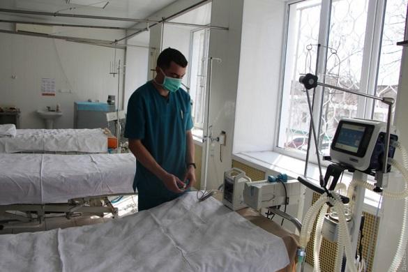 Понад 70% ліжок у Черкаській області забезпечені киснем
