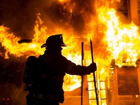 У Черкаській області сталася пожежа на горищі