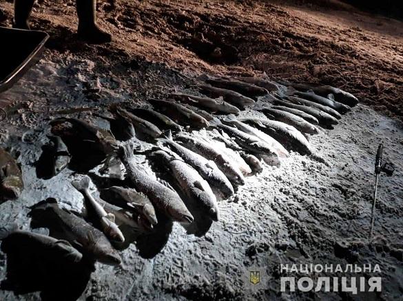 На території заказника в Черкаській області затримали двох браконьєрів