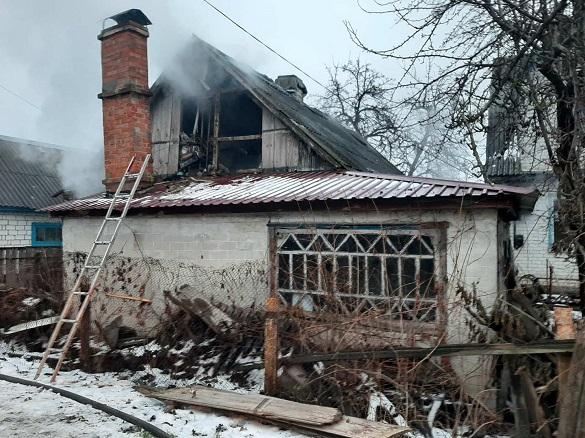 Під час пожежі на Черкащині загинули жінка