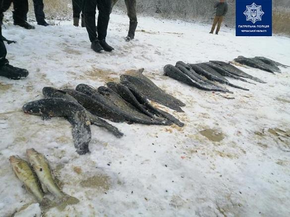 На Черкащині браконьєри завдали збитків на понад 13 тисяч гривень (ФОТО)