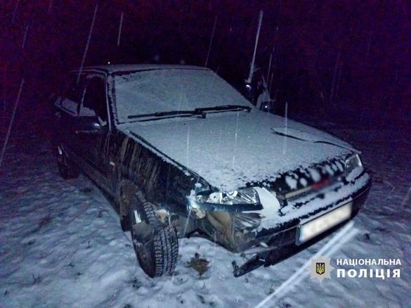 На Черкащині п'яний водій збив насмерть чоловіка і втік
