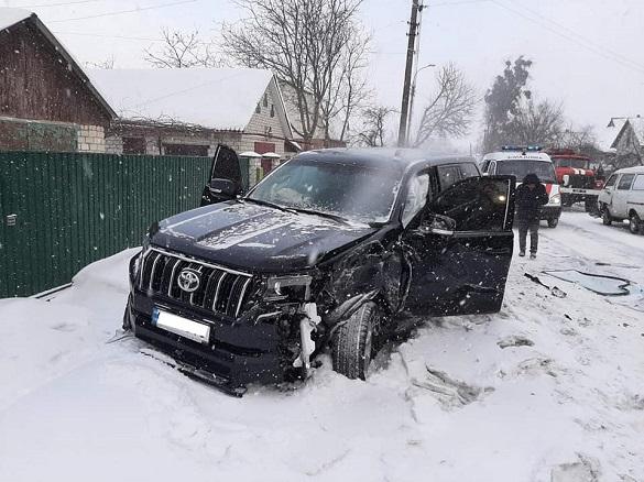 У Черкаській області зіштовхнулись два автомобілі: двоє постраждало (ФОТО)