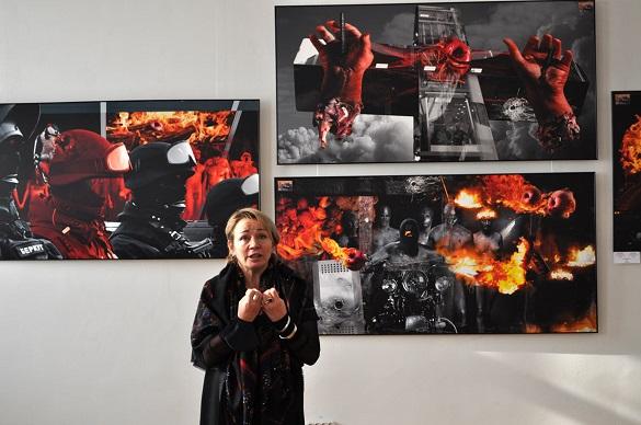Учеркаському музеї відкрили виставку, присвячену Революції гідності (ФОТО)