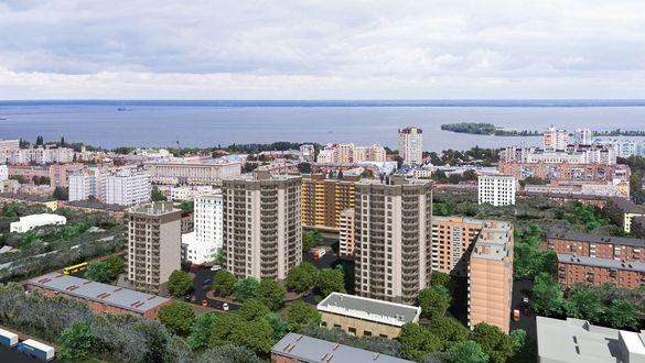 У центрі Черкас почали продавати квартири у новобудові