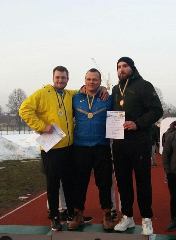 Черкаські спортсмени вибороли нагороди на всеукраїнських змаганнях