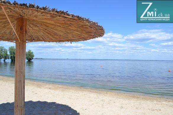 Ще один пляж облаштують в Черкасах