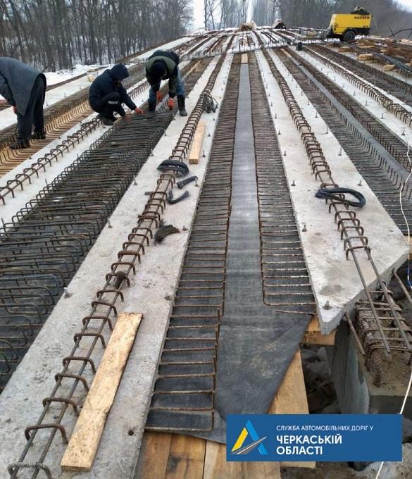 На Черкащині реконструюють шляхопровід через залізничну колію