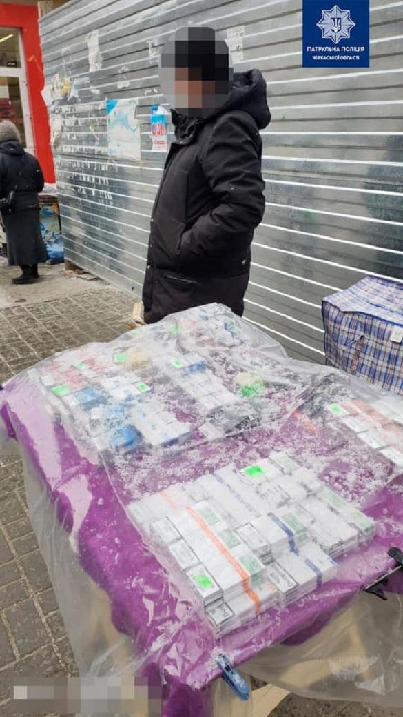 У Черкасах чоловік продавав цигарки без акцизів та ліцензії (ФОТО)