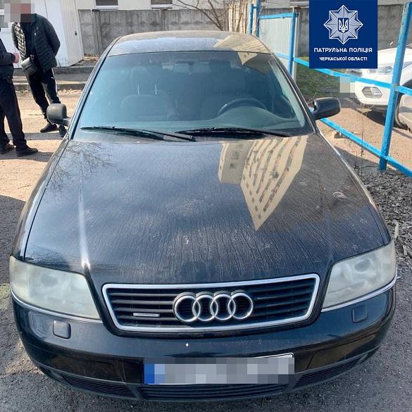 У Черкасах виявили автомобіль із підробленими документами (ФОТО)