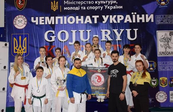 Майже 30 золотих медалей отримали черкаські каратисти на чемпіонаті України