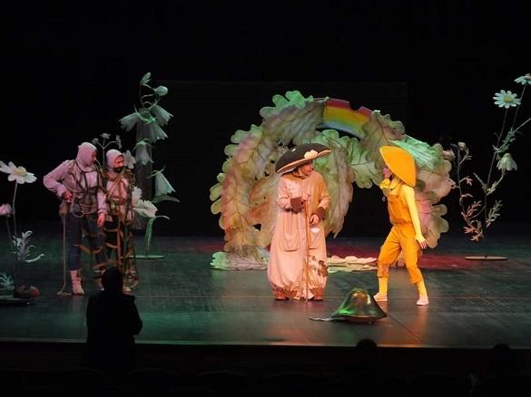 У драматичному театрі Черкас цього місяця показуватимуть вистави для дітей